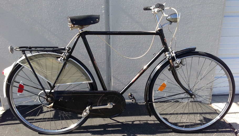 vintage hozee dutch commuter bicycle amsterdam bike. Black Bedroom Furniture Sets. Home Design Ideas